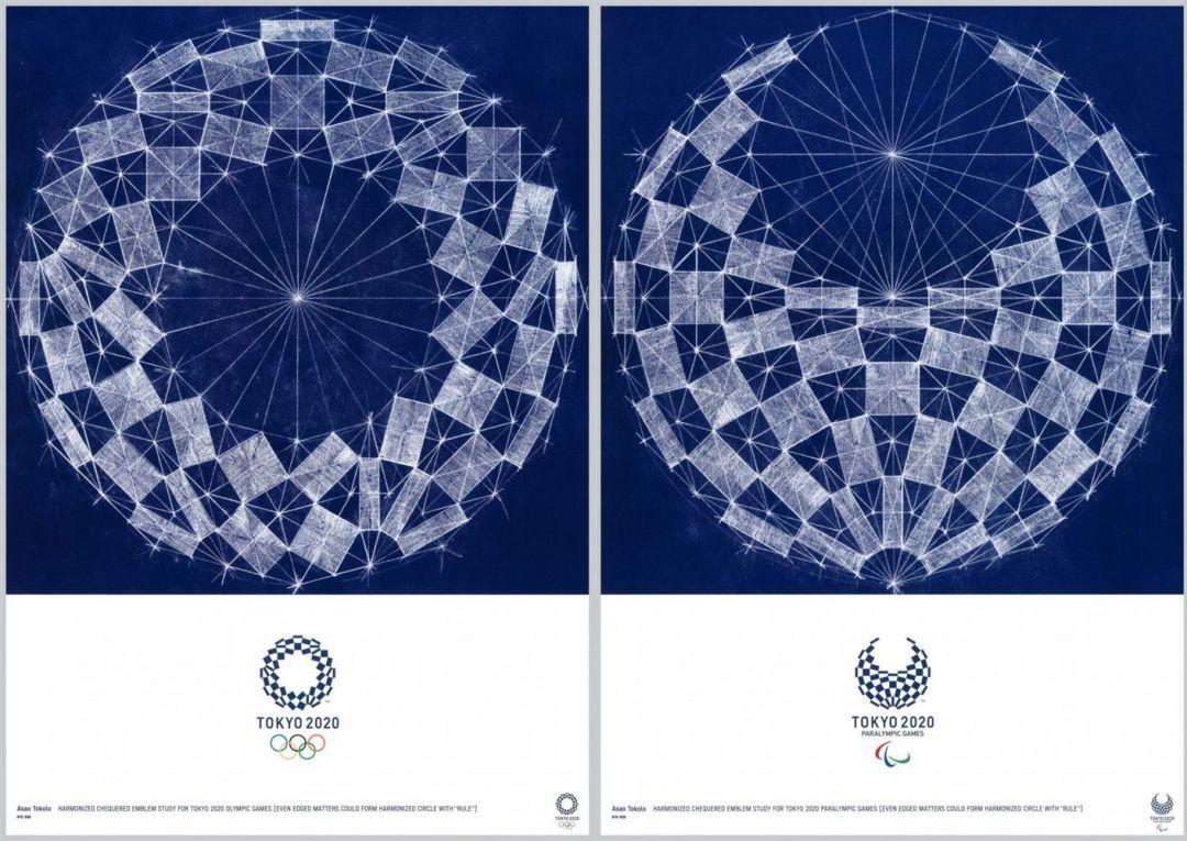 2020东京奥运会艺术海报(1)1、野老朝雄2、佐藤卓3、蜷川实花4