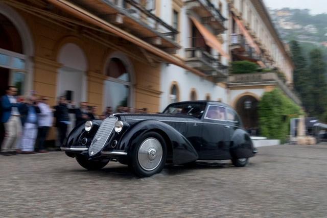 汽车界的大满贯得主:阿尔法罗密欧8C 2900B Touring Berlinetta