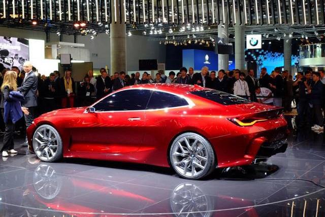 完美诠释美学精髓!宝马Concept4概念车亮相法兰克福车展