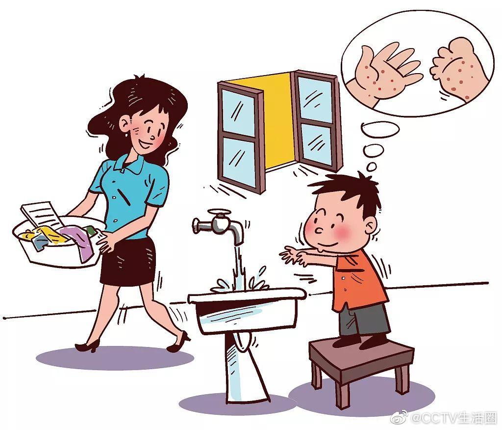 健康提示:手足口病多发生于儿童,一般症状较轻