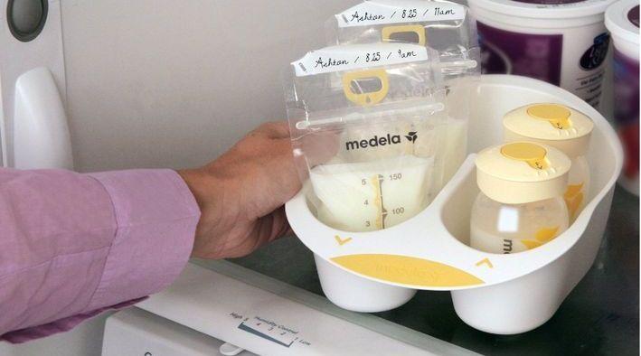 就像人工喂养无法代替母乳哺育。储奶袋能够帮助储存充足的母乳