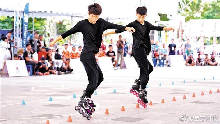 龙华区新华中学轮滑队闪耀东盟国际轮滑公开赛 获2金1银2铜好成绩