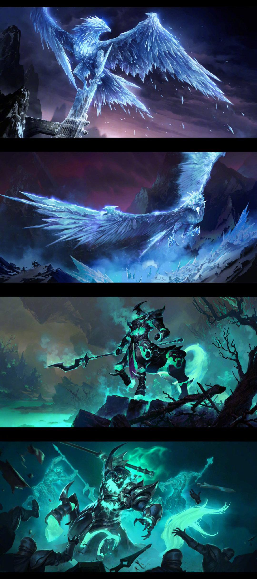 Legends of Runeterra英雄联盟卡牌游戏卡组原画太好看