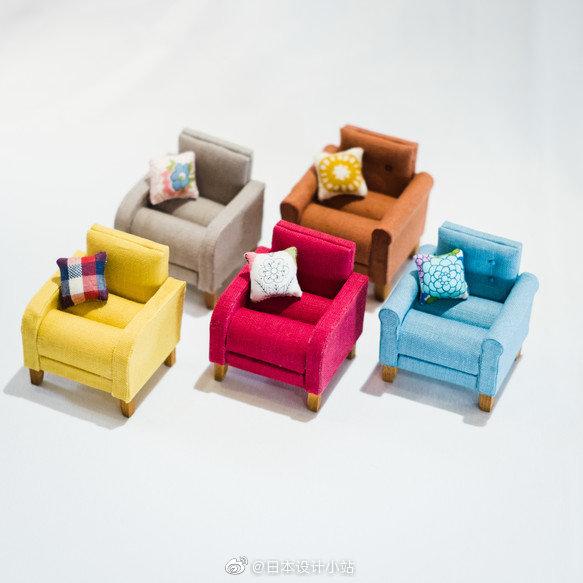 微型杂货——可以在这个迷你沙发上存放戒指