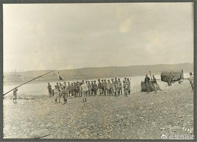 1920年的四川雅砻江畔藏族人