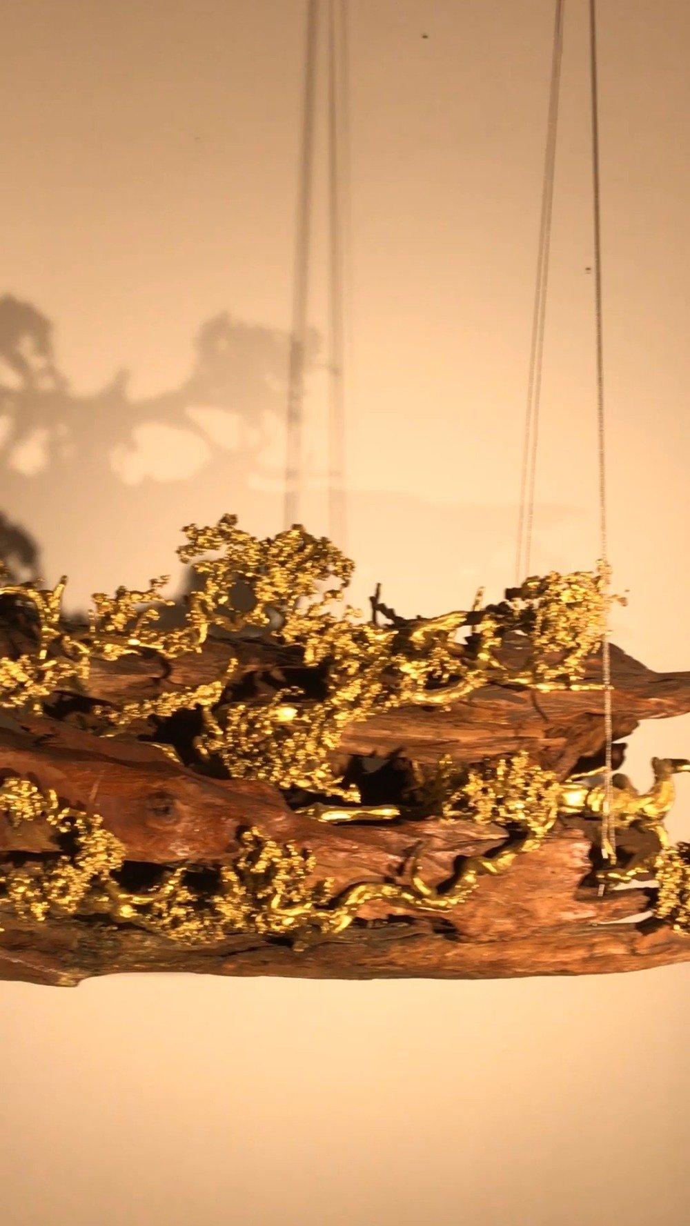 朱炳仁是中国铜雕领域界唯一一位国家级工艺美术大师