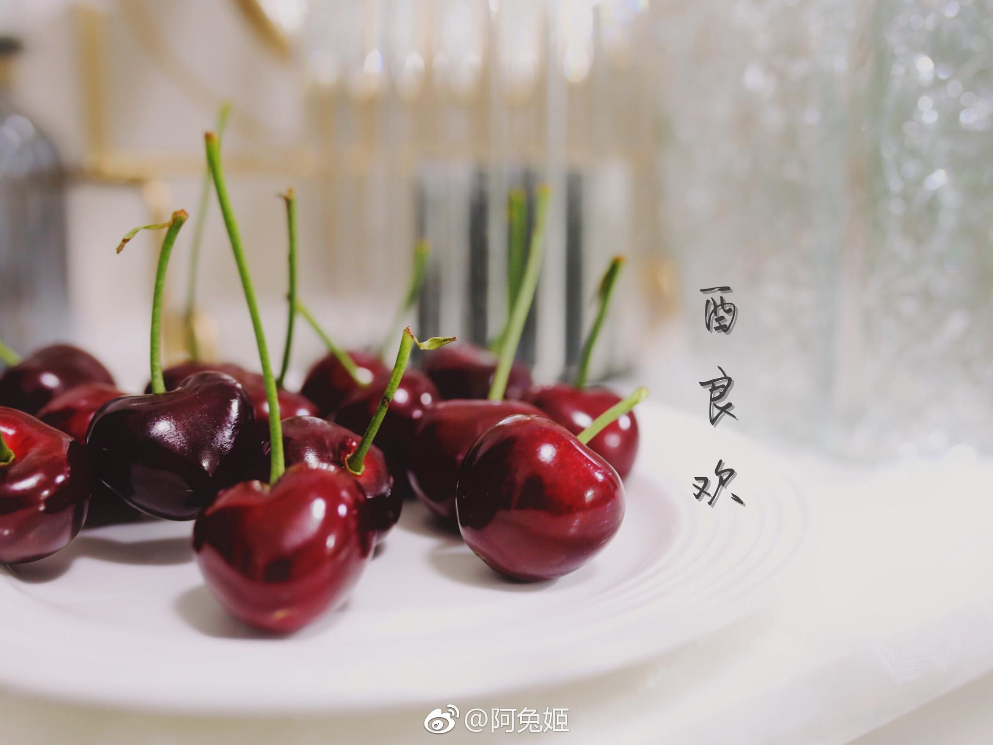 大连樱桃上市了,看了樱桃果酱和朗姆酒酿樱桃,暴殄天物!!