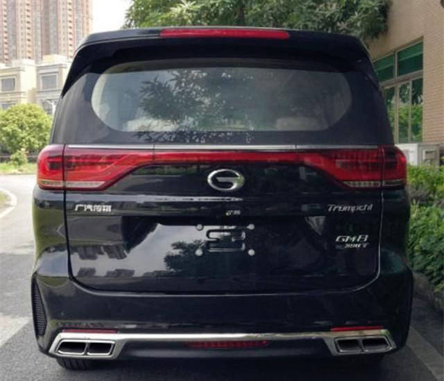 传祺GM8再出新款,换装四出排气,配2.0T+爱信8AT,马力252匹!