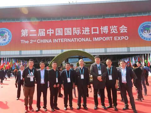 米脂小米杂粮走进第二届中国国际进口博览会