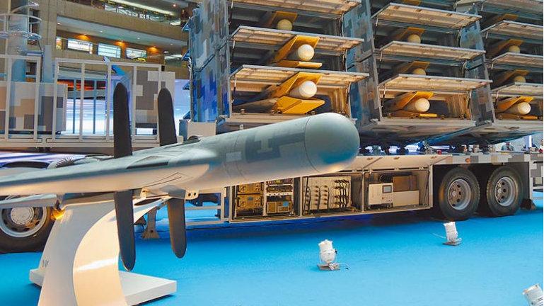 """台军将量产逾百架""""剑翔""""无人机:瘫痪辽宁舰海基雷达系统是作战目标"""