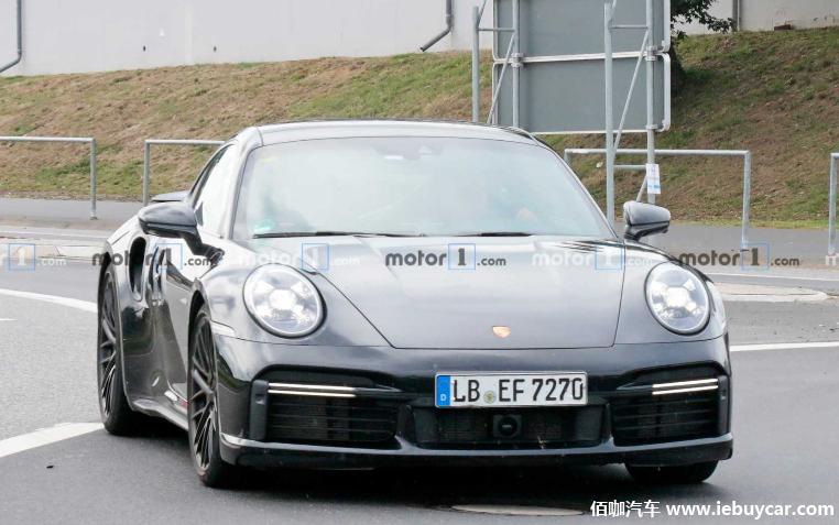 新一代保时捷911 Turbo S纽博格林最新测试谍照