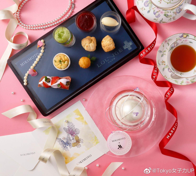 """MARRIOTT都酒店和MIKIMOTO展开限定合作,推出以""""真珠""""为主题甜品"""