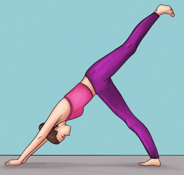 产后瘦身,10瘦身的瘦腿动作,瑜伽只要15天从上v产后饮食怎么图片