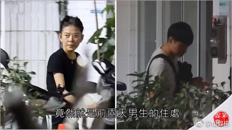 63岁王薇薇找小36岁男友算什么?台63岁富婆找了小40岁的男友
