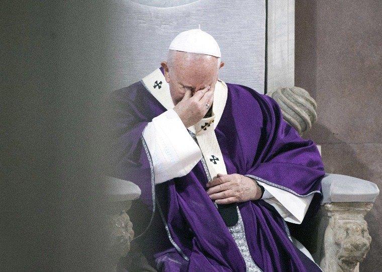 伊朗前任驻梵蒂冈大使因为新冠病毒肺炎去世,教皇出现这样的情况