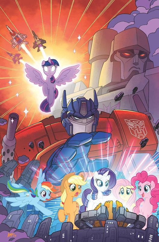 《变形金刚》联动《彩虹小马》漫画 汽车人的友谊也是魔法