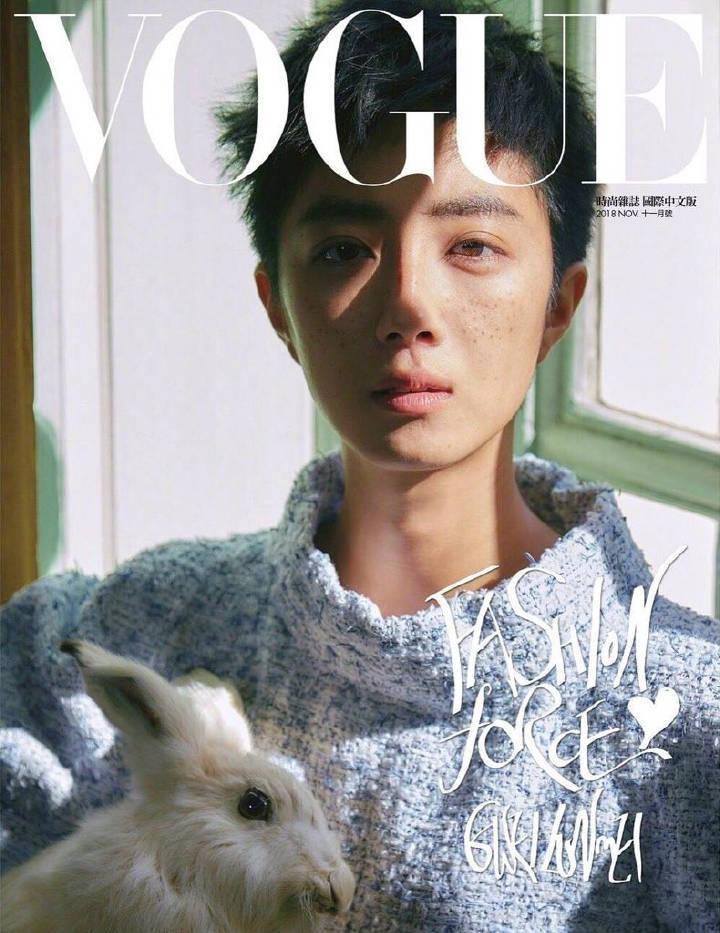 桂纶镁 for Vogue