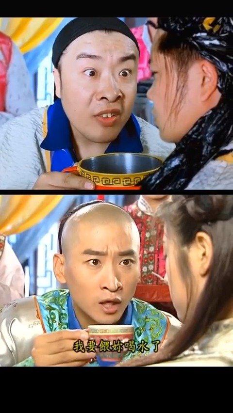 网友模仿权志龙,还珠格格,还有少年的你等片段.....