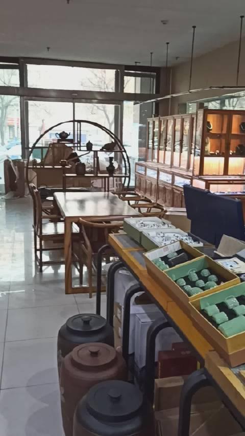 茶城淘宝,大漆建盏。