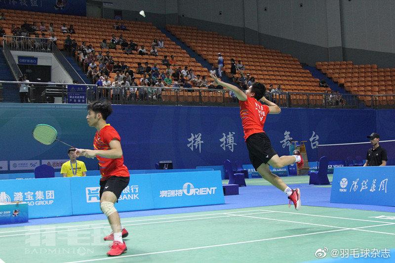 二青会|羽毛球体校组产生五单项金牌