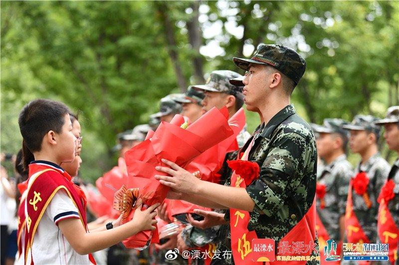 溧水区举行2019年度新兵入伍欢送仪式