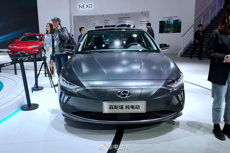 北京现代菲斯塔纯电动版将于2月上市!菲斯塔EV电池的能量密度为141