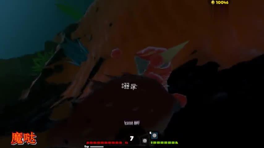 海底大乱斗:萌萌的河豚不再被欺负了,爆发出逆天的超能力