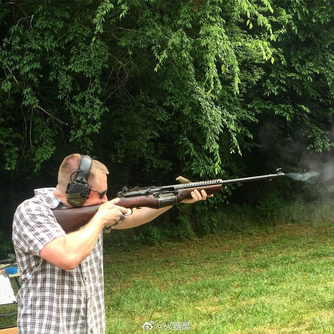M1941式约翰逊半自动步枪,顺溜的专用枪:)