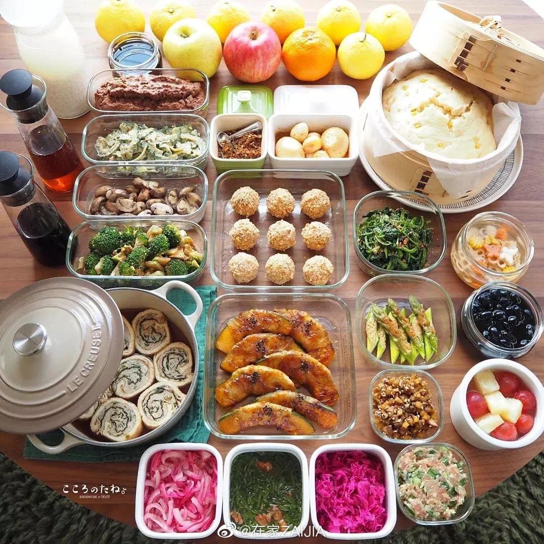 ins上一位日本妈妈火了,一日三餐便当至少有20样菜式.....