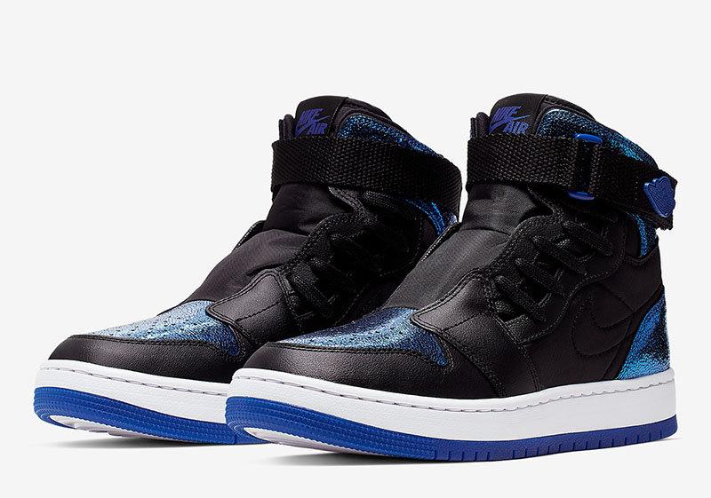 液态金属质感!这双 Air Jordan 1 变款有点小特别