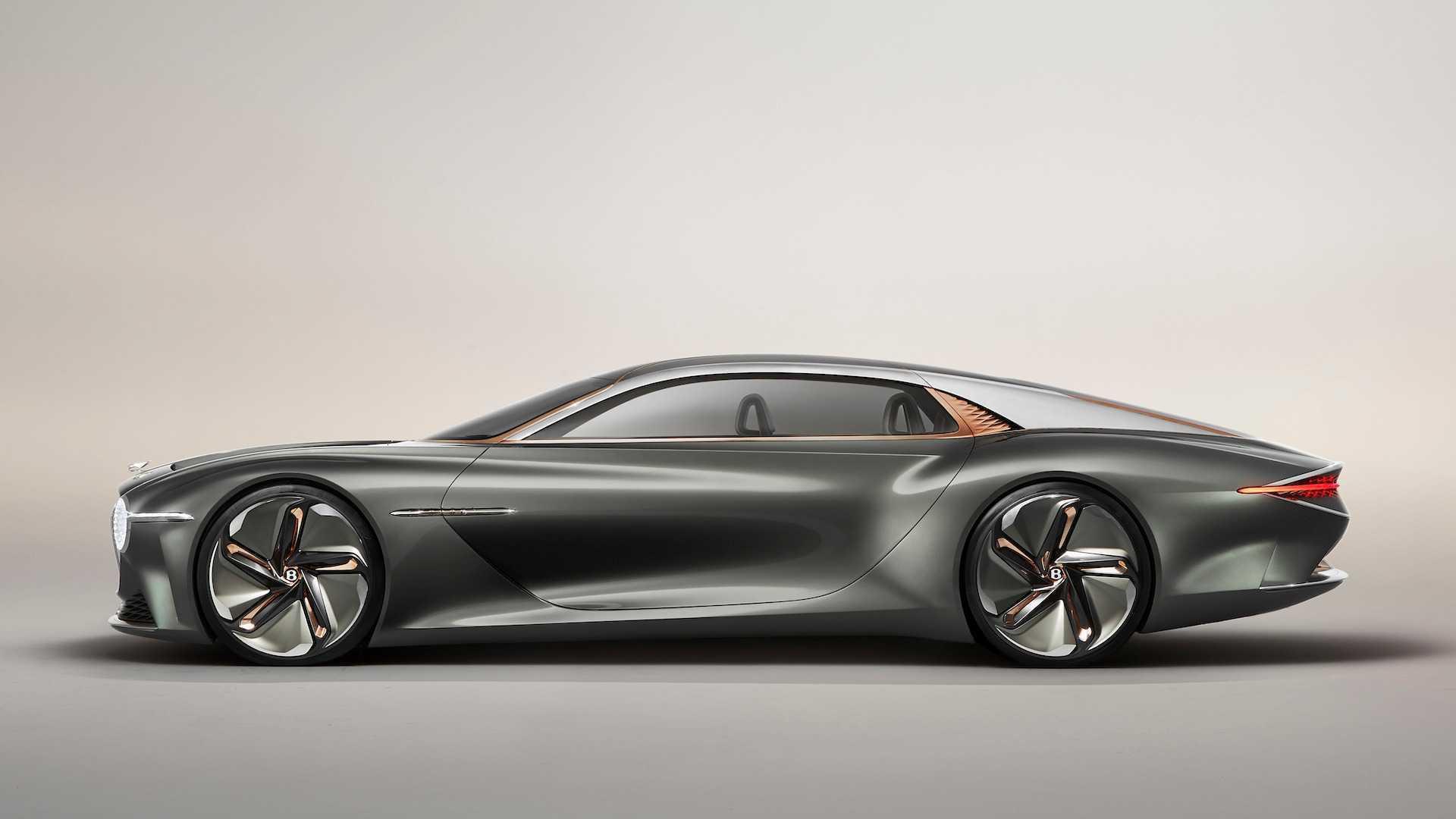 我是未来!宾利EXP 100 GT概念车登场