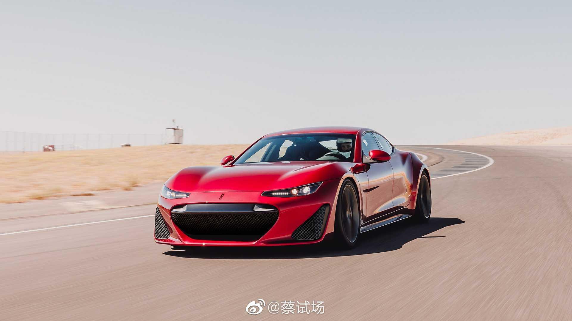 Drako GTE电动GT发布:硅谷车企Drako推出电动4座GT,命名GTE