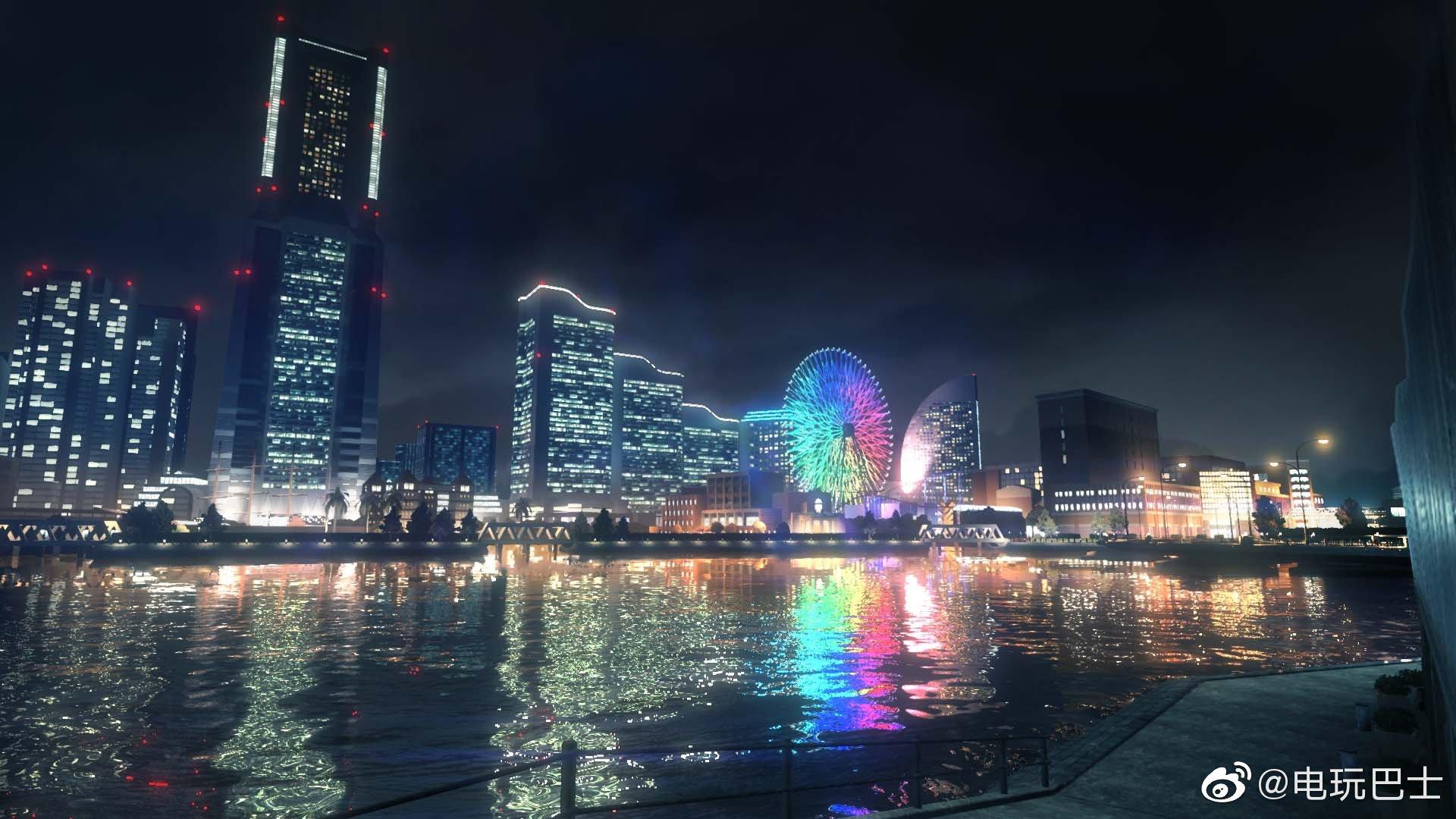 """世嘉发布《如龙7》主舞台""""横滨伊势佐木异人町""""的一批展示图"""