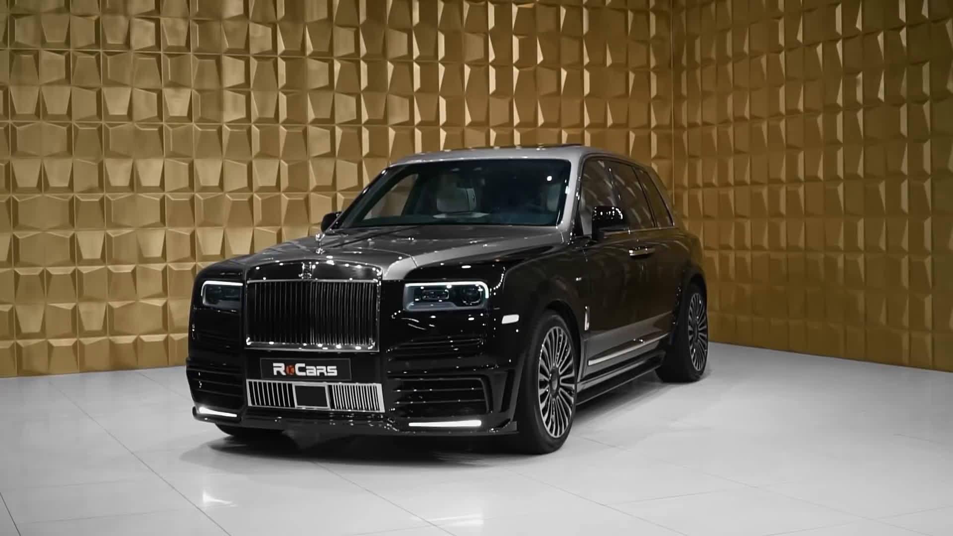 Mansory 操刀 Rolls Royce Cullinan