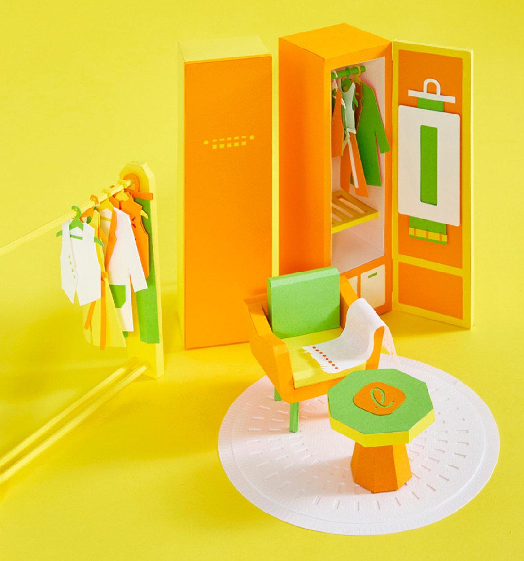 欢迎进入迷你纸质雕塑世界韩国艺术家Lee Ji-Hee