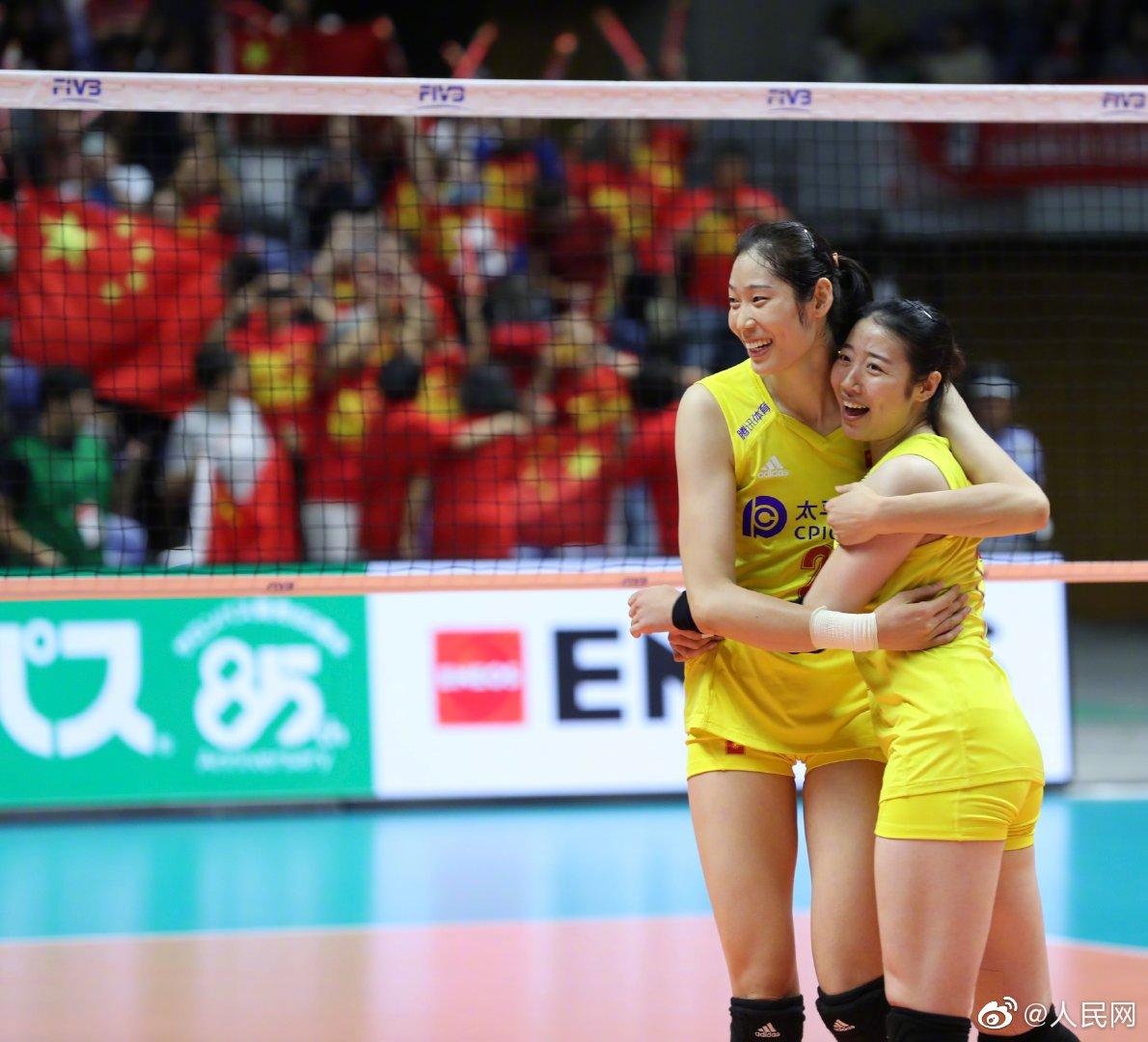 激动人心!中国女排世界杯七连胜