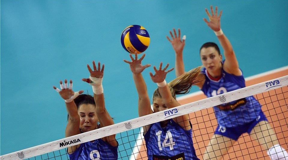 女排E组:俄罗斯3-0力克墨西哥