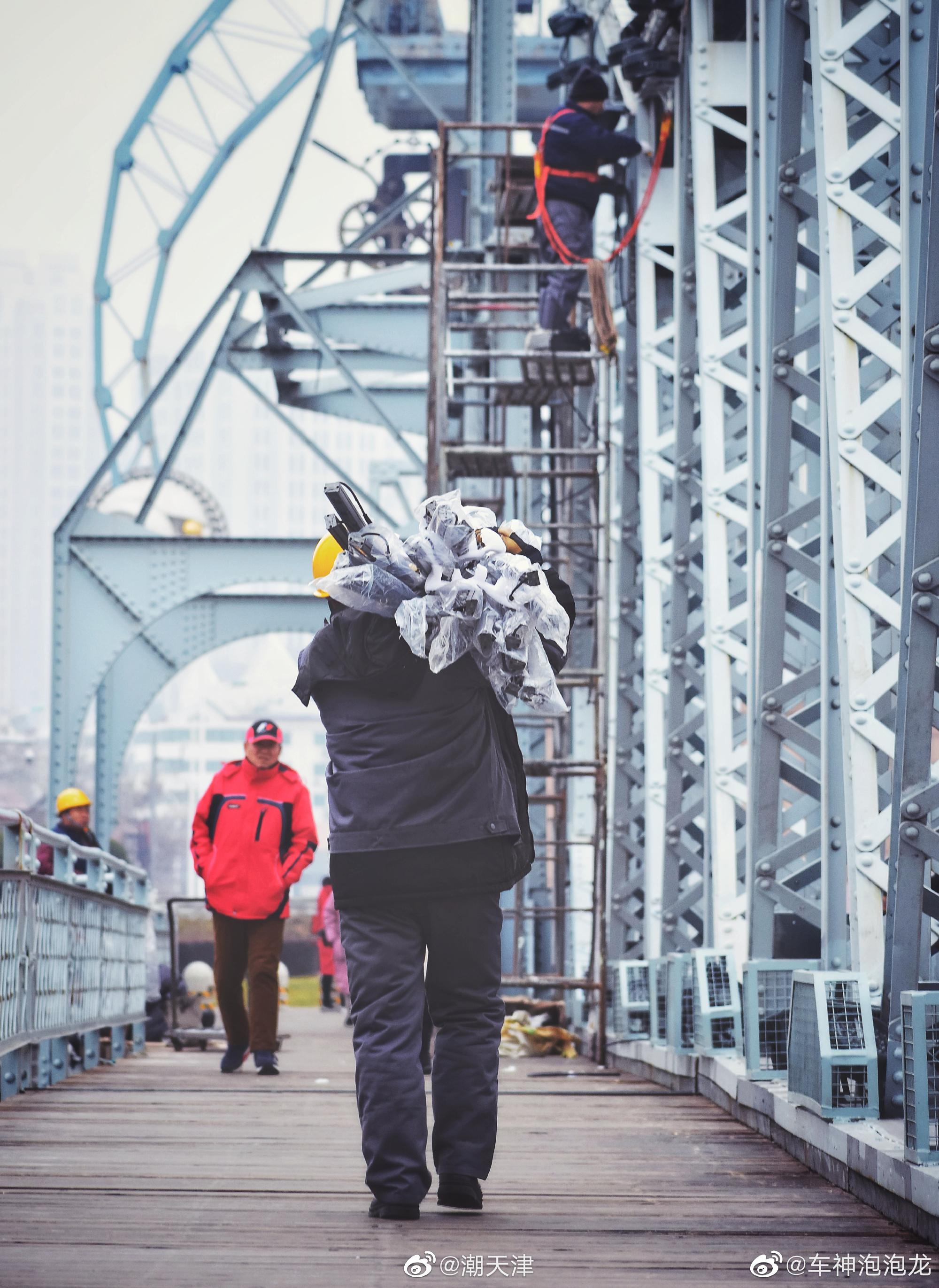 2019年冬至时的天津解放桥(by:@车神泡泡龙 )喜欢第九张