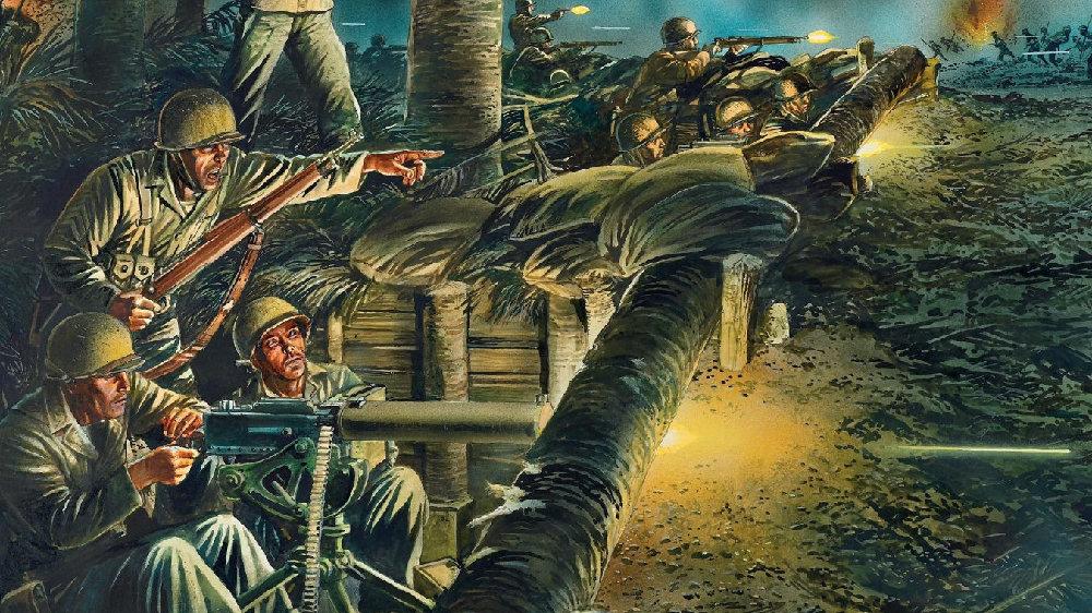"""""""过誉与否""""美国海军陆战队巴斯隆军士真的击毙了3000日军?"""