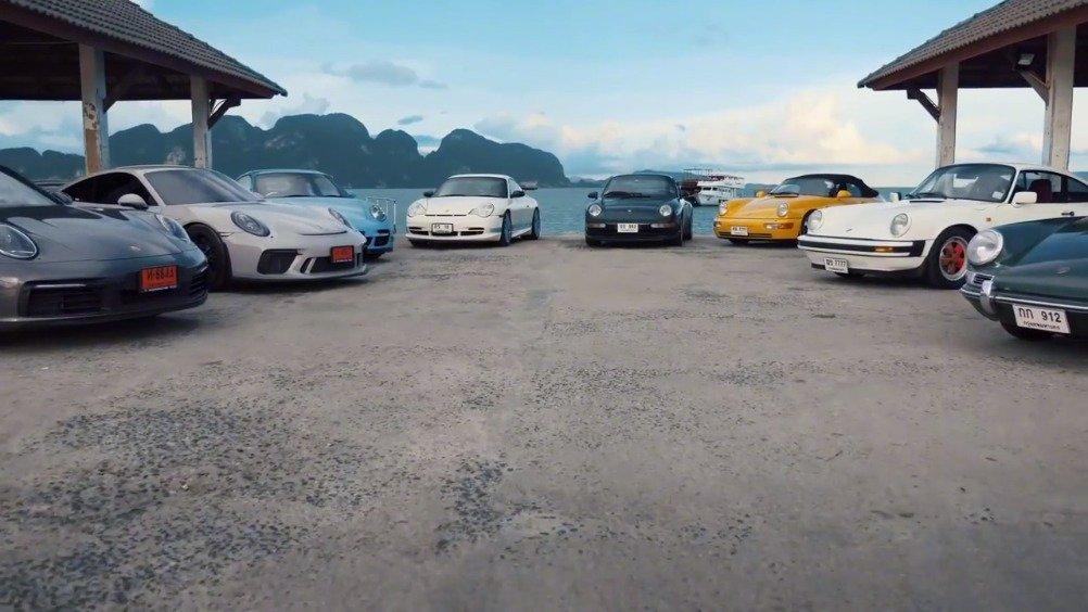 Porsche 全新广告片段展示 8 个世代 911 齐聚一堂