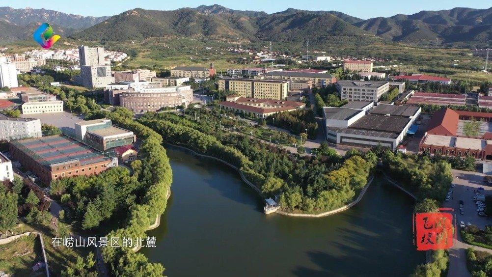 风景如画的现代化校园,飞阅青岛理工大学琴岛学院