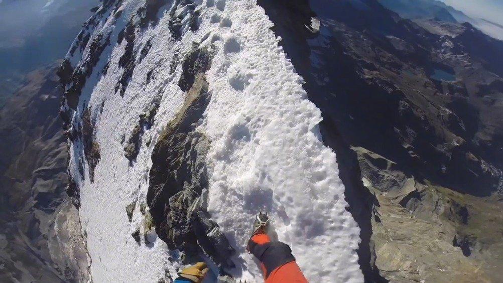 感受一下第一视角攀登欧洲阿尔卑斯山最著名的马特洪峰
