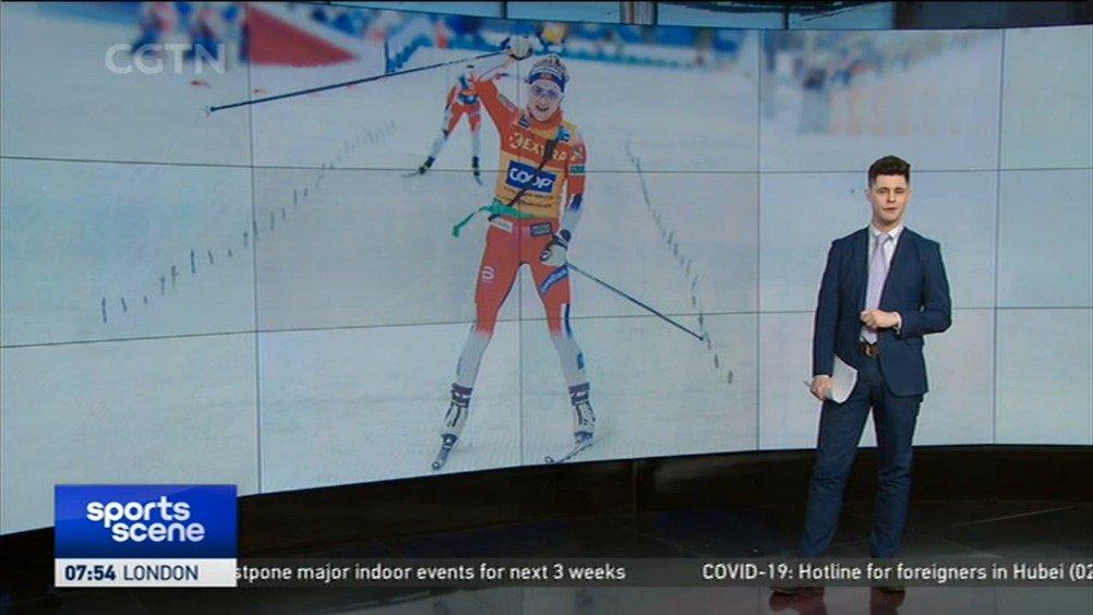 特蕾莎·哈格夺得越野滑雪世界杯五连冠