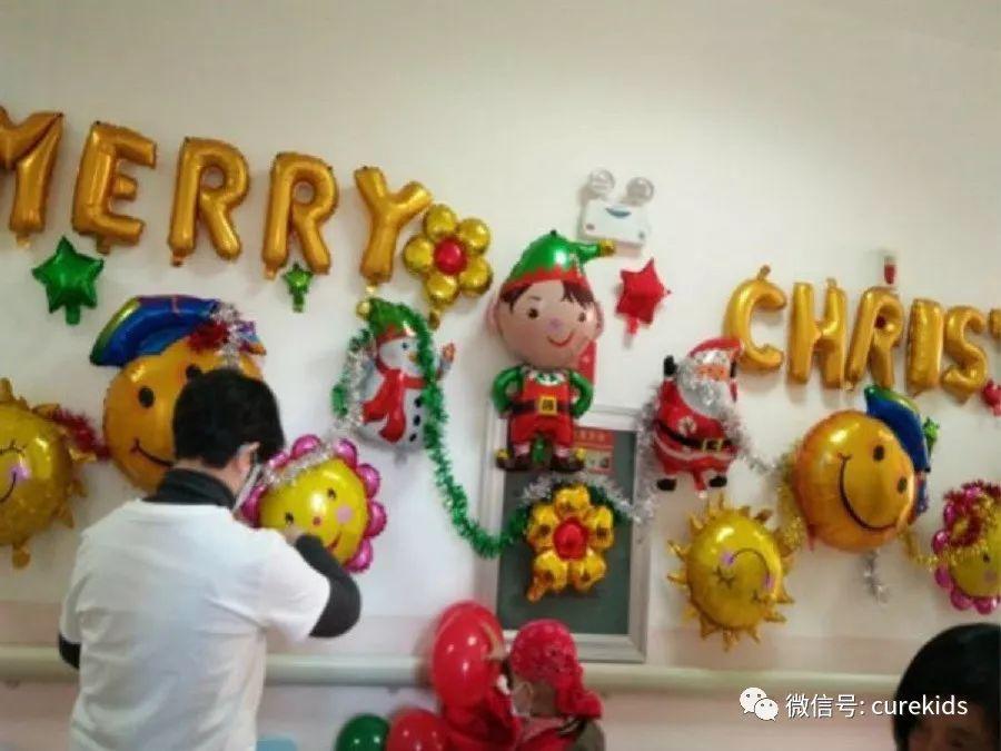 向日葵儿童携手昆明儿童医院肿瘤科举行圣诞节亲子活动