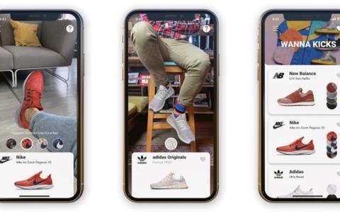 利用3D算法和神经网络 初创公司Wannaby推AR试鞋应用程序