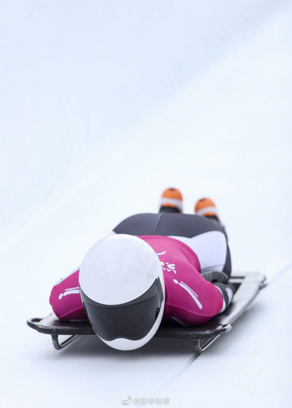 冬青奥钢架雪车中国小将赵丹首登大赛获第七