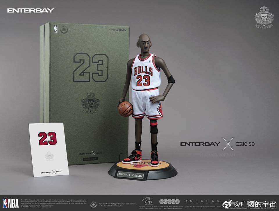 1:6 Enterbay x Eric So MJ (Home) Limited Edition 官网现货发售