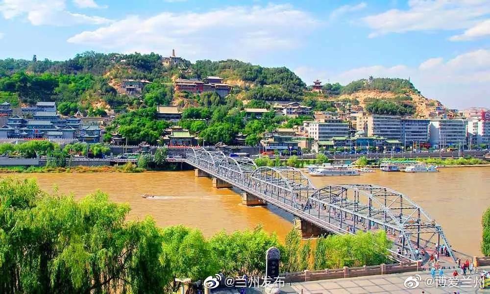 黄河之滨也很美 | 绿染兰州:一水护田将绿绕 两山排闼送青来