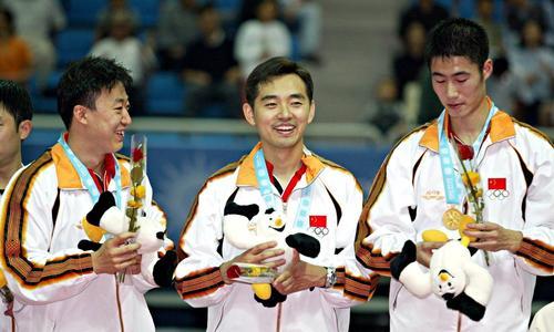 消失的乒乓王子!昔日四大女徒两人奥运会冠军,只有自己无缘国乒