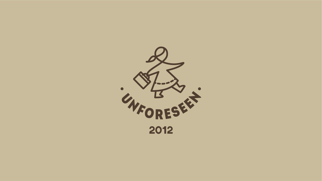 UNFORESEEN 手工皮具定制品牌logo设计和vi设计欣赏